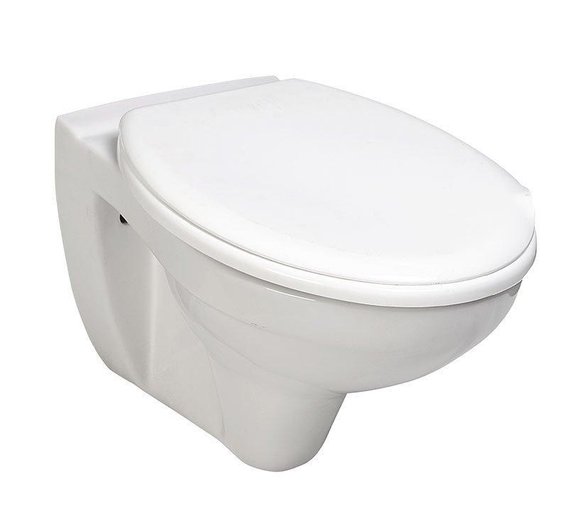 TAURUS závesná WC misa, 36x54,5cm, biela