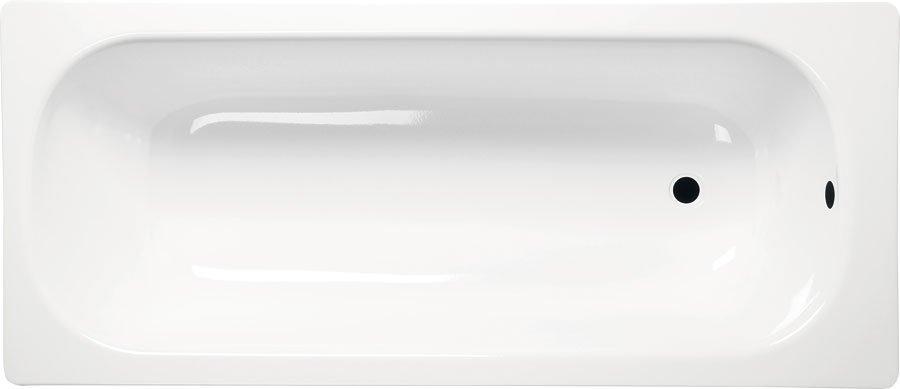 Obdĺžniková smaltovaná vaňa 120x70x38cm, biela
