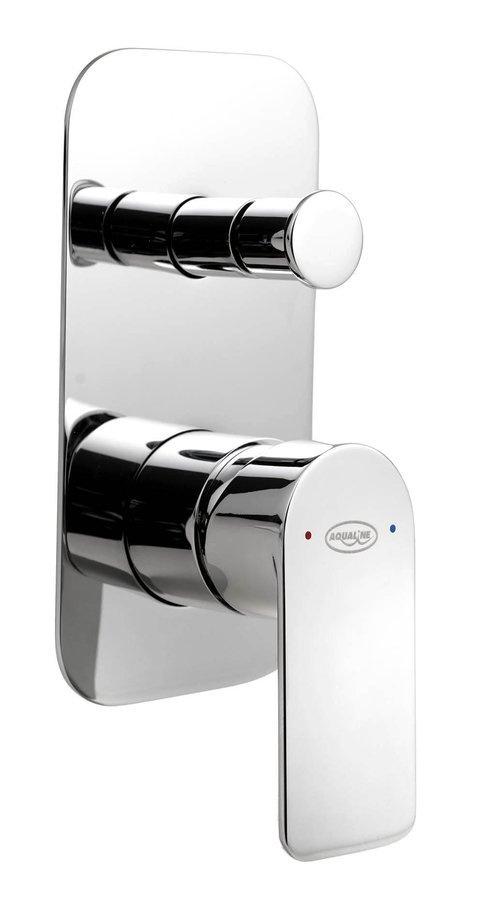 DAPHNE podomietková sprchová batéria, 2 výstup, chróm