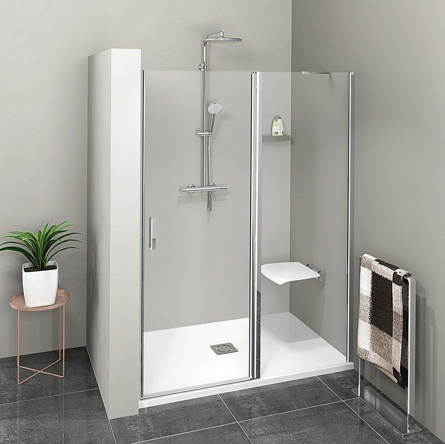 ZOOM LINE sprchové dvere 1400mm, číre sklo