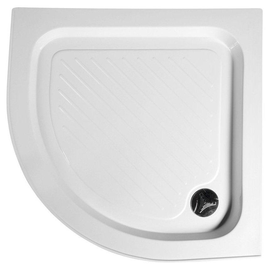 Sprchová vanička akrylátová, štvrťkruh 90x90x15cm